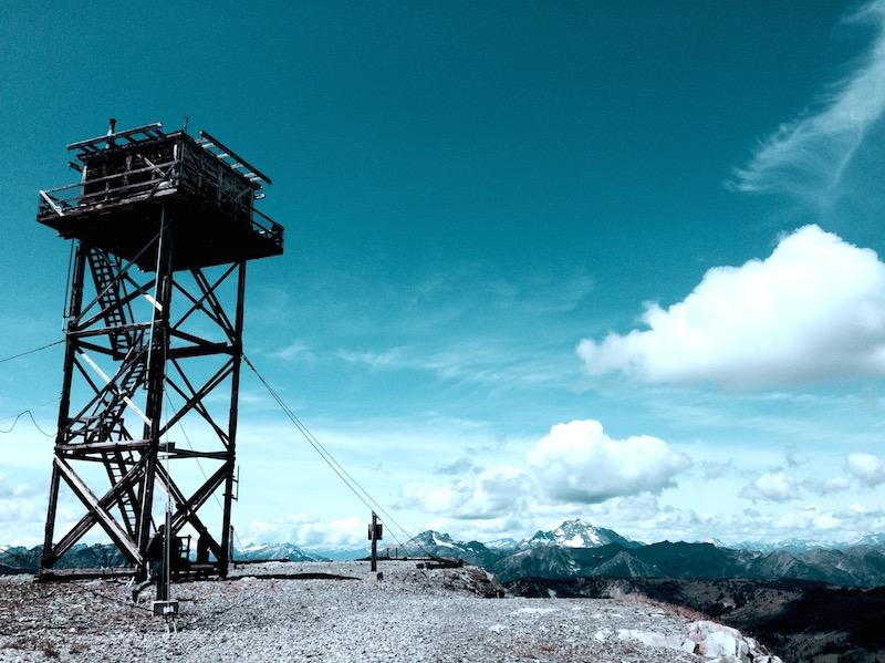 slate peak lookout
