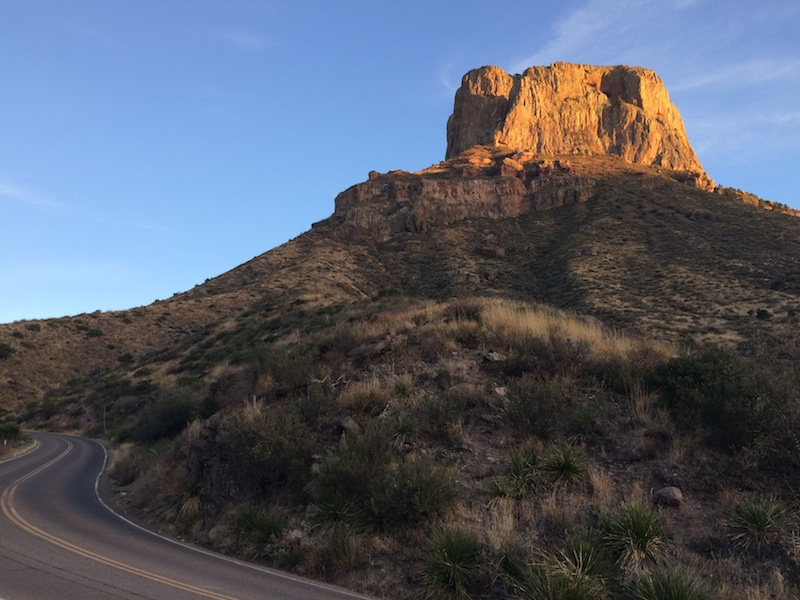 big bend outcrop
